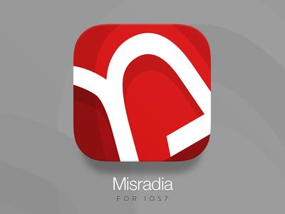 Misradia iOS7 Icon @2x