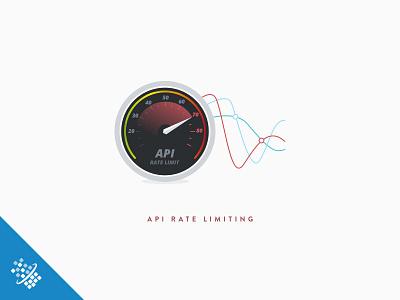 API Rate Limiting @2x bot distil networks illustration design speed chart api web