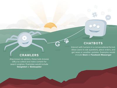 Distil - Infographic characters affinitydesigner vector flat art web infographic illustration