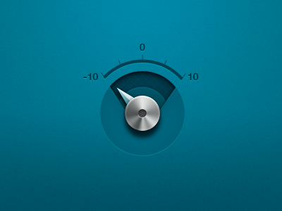 Volume dial