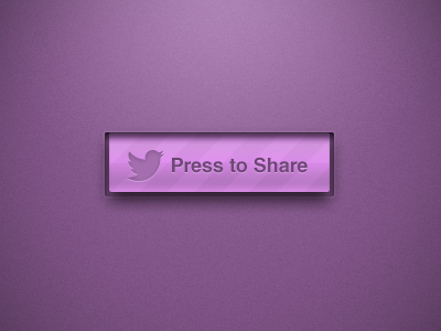 Press To Share ui ux interface ios vector pattern purple texture press share twitter social media button