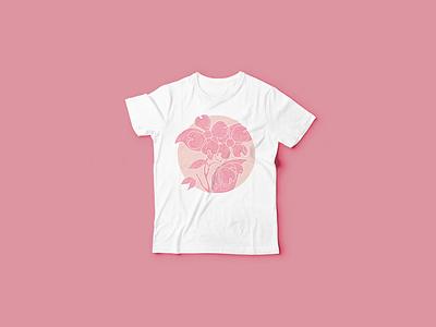 Dogwood Tshirt apparel tshirt illustration