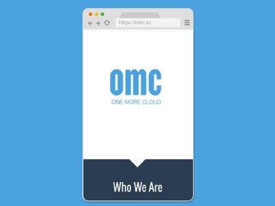 One More Cloud Responsive Site: Mobile responsive design website web design clean simple ui ux mobile design