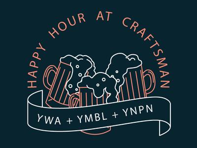 Craftsman Happy Hour for YWA