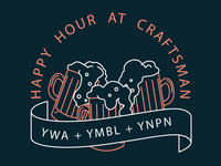 Craftsman Happy Hour for YWA