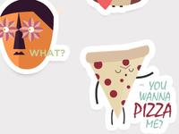 iMessage Stickers - Fun Multi-Character Sticker Pack