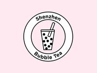 Logo design challenge #8 - Shenzhen Bubble Tea