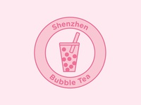 Logo design challenge #8 - Shenzhen Bubble Tea