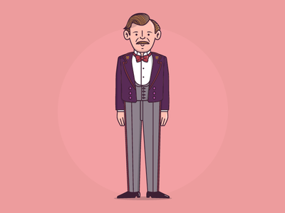 M. Gustave Grand Budapest Hotel