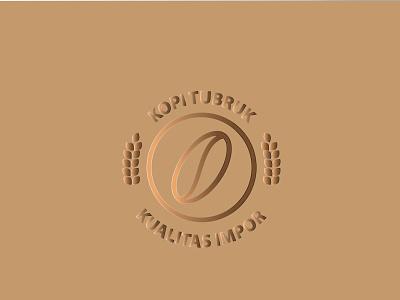 KOPI TUBRUK minimal branding logo