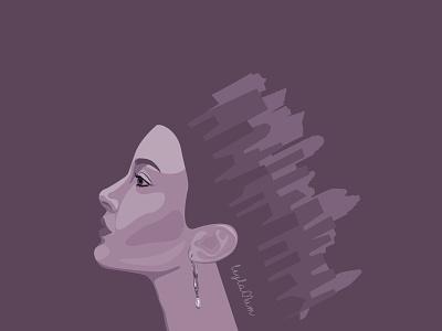 Queen fashion queen crown beauty adobeillustrator drawing vectorart illustrator art graphic design icon vector illustration design