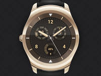 Watch face design for Ticwatch