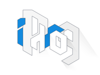 """iPhrog"" logo design"