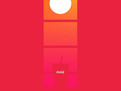 #AlwaysCocaCola minimal logo flat web design campaign graphics illustration digitalart branding marketing vector advertisement cocacola