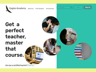 Landing Page design website uiux ui design ux ui
