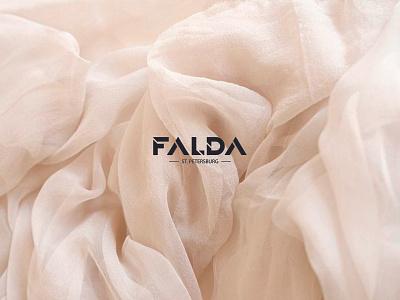 FALDA | Logo minimalist minimal logotype brand identity identity fashion brand fashion logo design logo