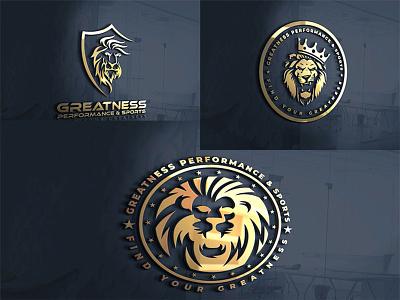 3d fitness or gym logos illustrator animation typography branding design illustration logo vector logodesign bodybuidling sports gym fitness