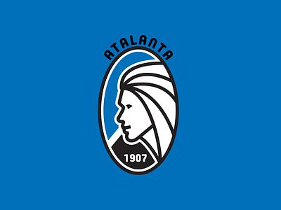 ATALANTA BERGAMO REDESIGN calcio bergamo italian design italy poland design branding football app football club soccer logo hockey sports vector