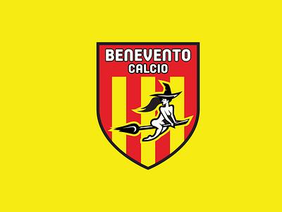 BENEVENTO CALCIO serie a calcio italian food italy poland design crest logo crest football logo football logo sports vector
