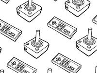 Nostalgic Gamer Pattern
