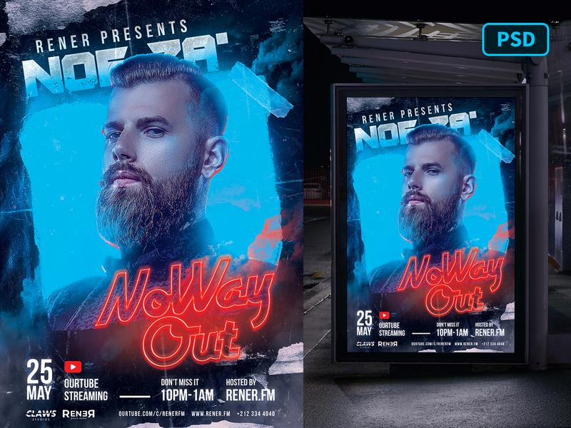 Club DJ Flyer Template Photoshop party flyer dj flyer psd nightclub dj graphicriver poster template flyer template photoshop party poster flyer