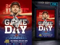 Baseball Flyer Template PSD sports branding sports design graphic design softball flyer baseball flyer softball sports baseball flyer template psd flyer template graphicriver
