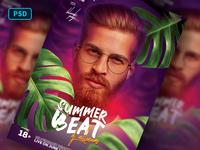 Summer Party Dj Flyer Template