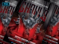 Undead Halloween Flyer Template