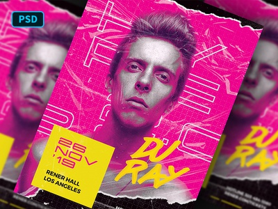 Hype DJ Flyer Template