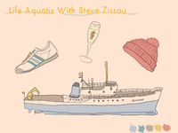 Life Aquatic Illustrations