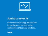 Statistics never lie