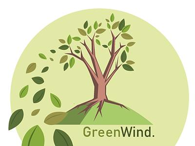 GreenWind Logo marketing logodesign logotype logo