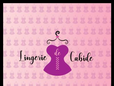 Lingerie de Cabide logo Proposal hanger logodesign logotype bra espartilho corset lingerie