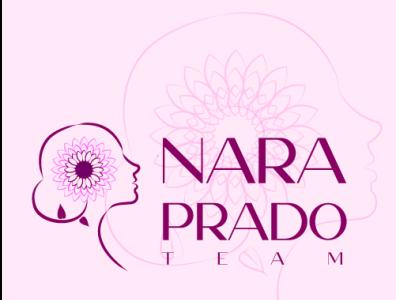 NARA PRADO TEAM Proposal zen pink yoga health illustrator logodesign sunflower logotype
