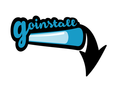 GoInstall Logo Proposal software ecommerce download logotype branding illustrator logo designer