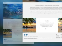 Website Design for Vacation Service Provider