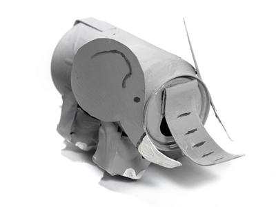 Recycled Elephant Eco-Craft