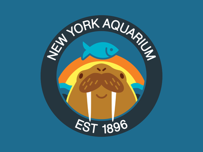 Walrus Hat for the New York Aquarium