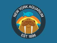 Walrus Hat for the New York Aquarium