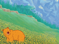 Wild About Bears Illustrations - Flowers
