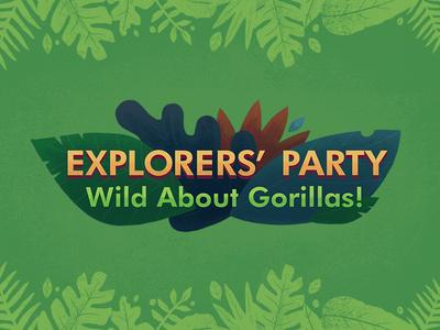 Wild About Gorillas! Typography