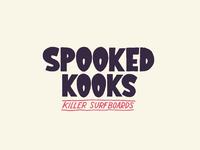 Spooked kooks logotype tag
