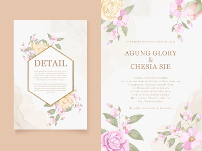 elegant wedding invitation vector template luxury elegant beautifull illustrator designer templates template design invitation design invitation card wedding invite wedding illustration wedding invitation wedding card vector invitation graphic design engagement design branding design