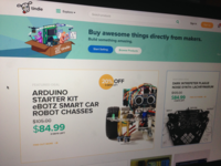 Tindie Home Page