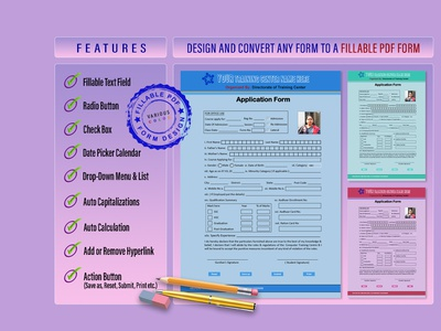 Design and convert any form to a Fillable pdf form excel to pdf pdf to powerpoint fillable pdf form convert pdf to word word to pdf