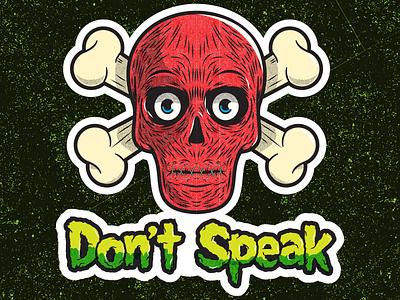 PSA sticker skull and crossbones logos vector illustration graphic design logo illustration illustrator skull