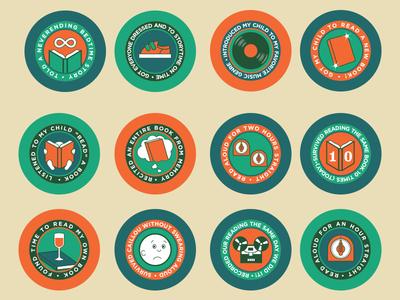 Parental Achievement Badges
