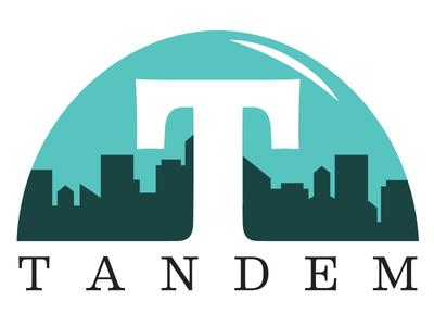 Tandem Logo maximum fun fake company bubble podcast podcast logo logo podcast