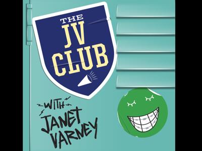 The JV Club graphic design stickers maximum fun locker logo podcast logo