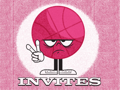 Dribbble Invite Giveaway (x2) illustration art illustration cartoon invite giveaway invite dribbble invite giveaway dribbble invitations dribbble invitation dribbble invite